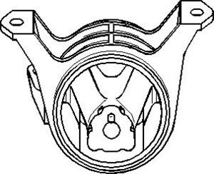 Bildel: Motorkudde, Höger fram