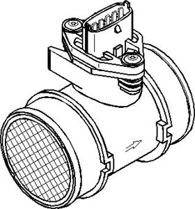 Bildel: Luftmassemätare