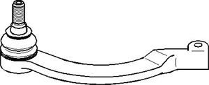 Styreledd (ytre), Framaksel, Framaksel venstre, Venstre