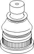 Bærekugle, Foraksel, højre eller venstre, Nede