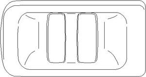 Dørhåndtak, Høyre, Kjøretøysiden