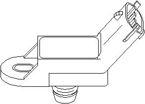 Sensor, ladetrykk,