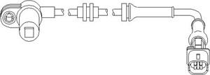 Sensor, hjulturtall, Bakaksel, Foran, Framaksel, Bak, høyre eller venstre, Bakre venstre, Foran, høyre eller venstre, Høyre bak, Høyre bakaksel, Venstre bakaksel, Høyre, Venstre