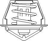 Reservdel:Opel Zafira Termostat, kylvätska