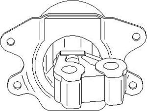 Reservdel:Opel Combo Motorkudde, Vänster fram