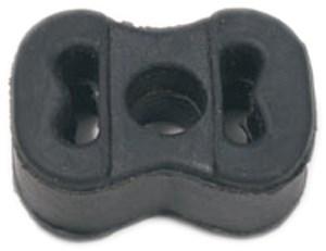 Gummiupphängning, avgassystem