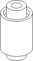 Bussning, länkarm, Fram, Inre, Fram, höger eller vänster, Höger eller vänster, Nedre framaxel, Höger, Nedre, Vänster