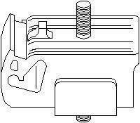 Reservdel:Ford Escort Bussning, manuell växellåda