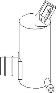 Vandpumpe, rudevisker/vasker, Bagagerum