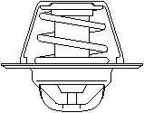 Reservdel:Ford Escort Termostat, kylvätska