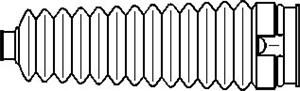 Reservdel:Ford Escort Styrväxeldamask, Höger eller vänster