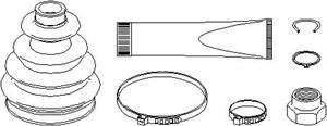 Reservdel:Ford Escort Dammskydd, drivaxel, Inre, Yttre, Höger fram, Vänster fram