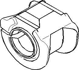 Reservdel:Ford Escort Bussning, krängningshämmare, Inre, Fram, höger eller vänster