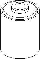 Bildel: Bussning, bladfjäder, Fram, Bak, höger eller vänster