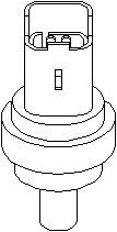 Reservdel:Ford Fusion Kylvätsketemperatur-sensor