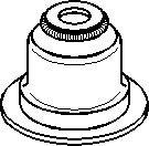 Tætningsring, ventilarm