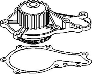 varaosat:Ford Fusion Vesipumppu