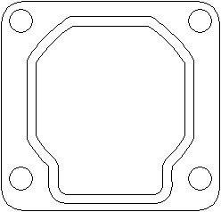 Reservdel:Ford Mondeo Packning, avgasrör