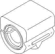 Ophæng, stabilisator, På indersiden, Bagaksel, højre eller venstre