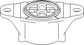 Fjäderbenslager, Bak, höger eller vänster