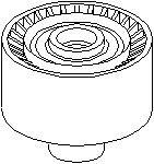 Reservdel:Citroen C3 Styrrulle, drivrem