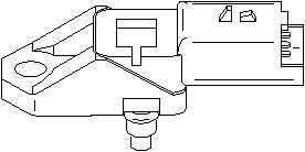 Reservdel:Citroen C3 Sensor, insugstryck