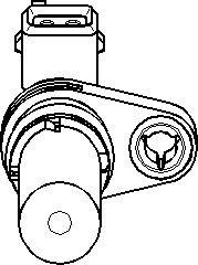 Reservdel:Ford Fusion Sensor, kamaxelgivare
