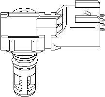 Reservdel:Volvo C30 Sensor, insugstryck