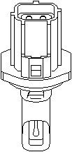 Reservdel:Ford Mondeo Sensor, insugslufttemperatur