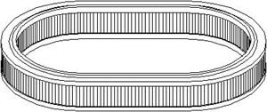 Reservdel:Ford Escort Luftfilter