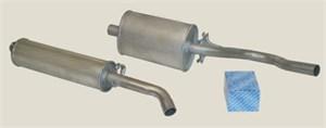 Standardavgassystem, halvsats