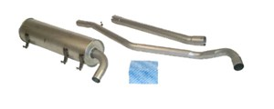 Reservdel:Saab 900 Standardavgassystem, halvsats