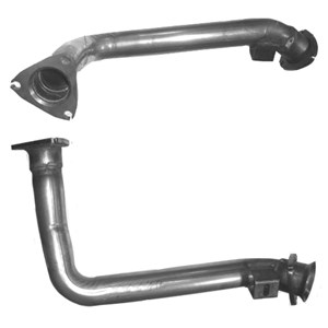 Exhaust Pipe, Left front