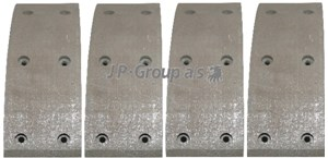 Brake Lining Kit, drum brake, Rear