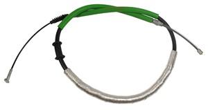 Cable, park brake, Left rear, Left