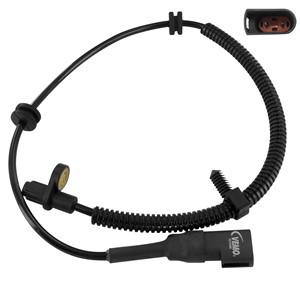 Sensor, wheel speed, Rear axle, Rear axle left, Left