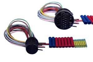 Repair Set, harness, Rear, Left or right, Vehicle door