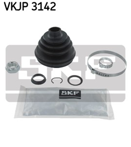 Boot Kit, drive shaft, Front axle, Wheel side