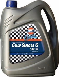 Bildel: Gulf Single G SAE 30, Universal