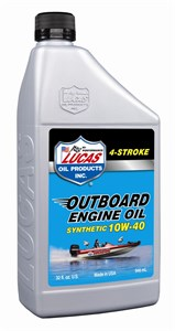 Bildel: FYRTAKTSOLJA - SYNTHETC 10W-40 OUTBOARD ENGINE OIL