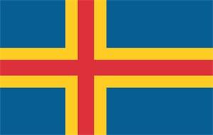 Bildel: FLAGGA - ÅLAND - POLYESTER
