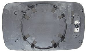 Reservdel:Bmw 520 Spegelglas, yttre spegel, Höger