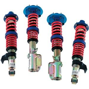 Coilovers, Foran og bak