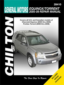 Haynes Reparationshandbok, Chevrolet Equinox Pontiac Torrent, Universal