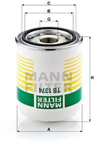 Lufttorkarpatron, kompressorsystem