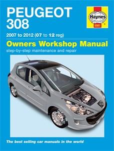 Haynes Reparationshandbok, Peugeot 308, Universal