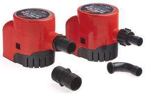 Lensepumpe - ULTIMA BILGE 600 GPH, 12 V - 32 L/MIN - 38 L/MIN