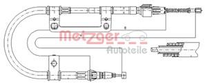 Reservdel:Mazda 626 Vajer, parkeringsbroms, Höger bak, Vänster bak
