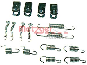Accessory Kit, park brake shoes, Rear