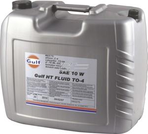 Bildel: Transmissionsolja Gulf HT Fluid TO-4 10W, Universal